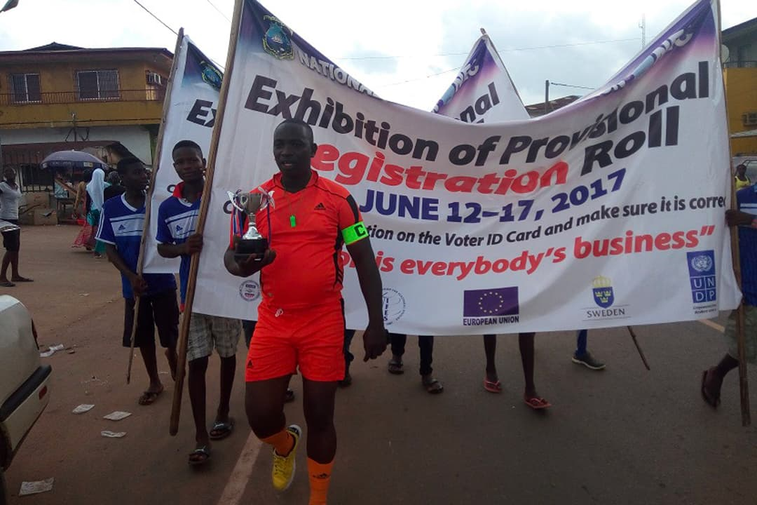 Liberia: Exhibition of the Provisional Voter Register