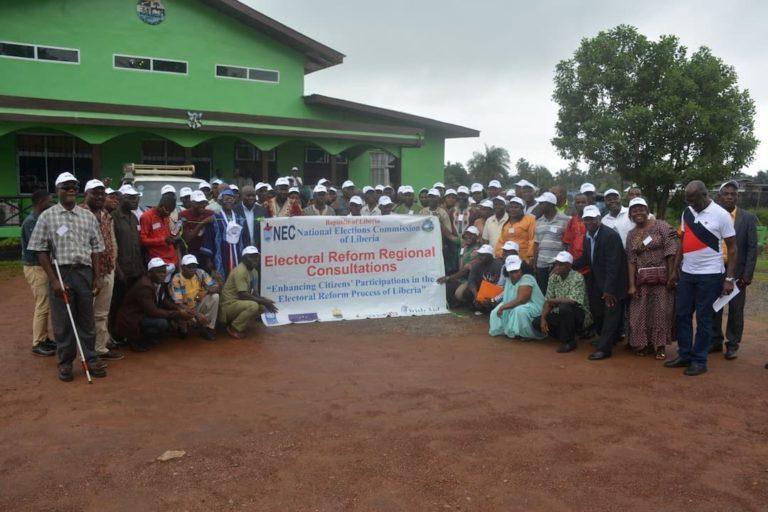 Liberia regional consultations legal reforms