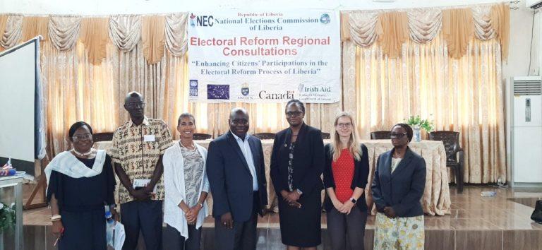 NEC Concludes Elections Law Reform Consultations