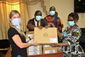 Liberia laptops donation electoral assistance project UNDP
