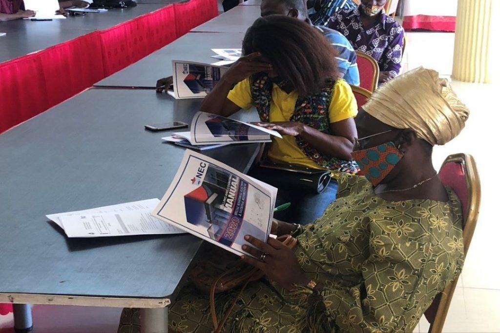 Press release Liberia electoral assistance project